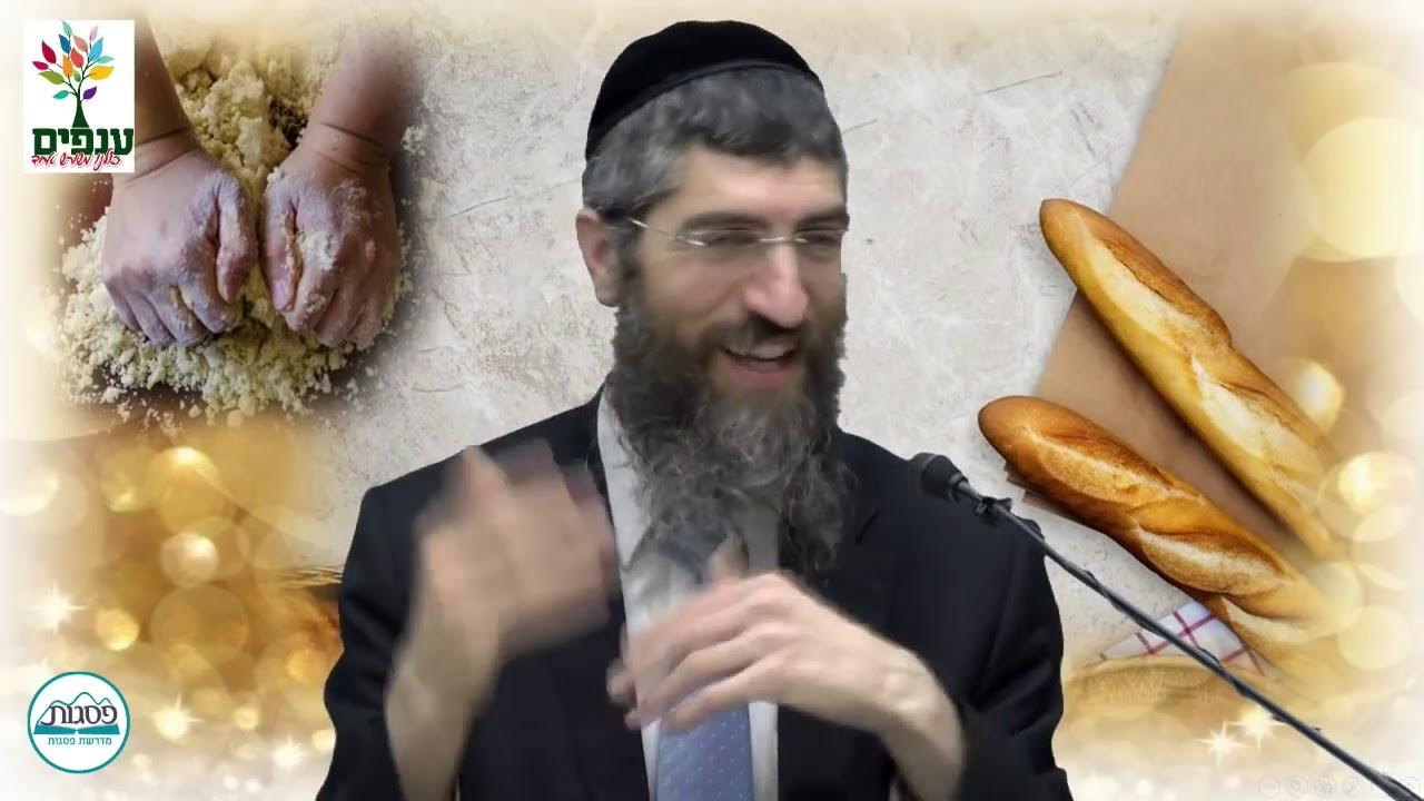 טבילת כלים והפרשת חלה   הרב יצחק יוסף הנכד HD