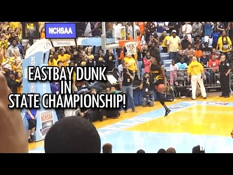Eastbay Dunk in High School STATE CHAMPIONSHIP Game! #SCtop10