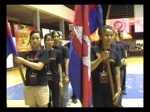 2009 Cellcard Cambodian National Volleyball League Opening Part 2
