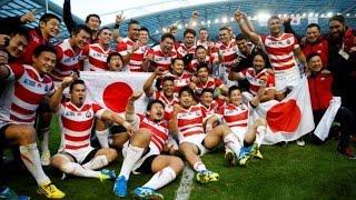 ラグビーワールドカップで日本代表が南アフリカに逆転勝利UC