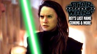 Star Wars Episode 9 Rey's Last Name & Identity Changes (Star Wars News)