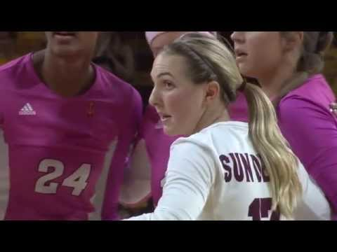 ASU Volleyball: Halle Harker is a big reason to the Sun Devil