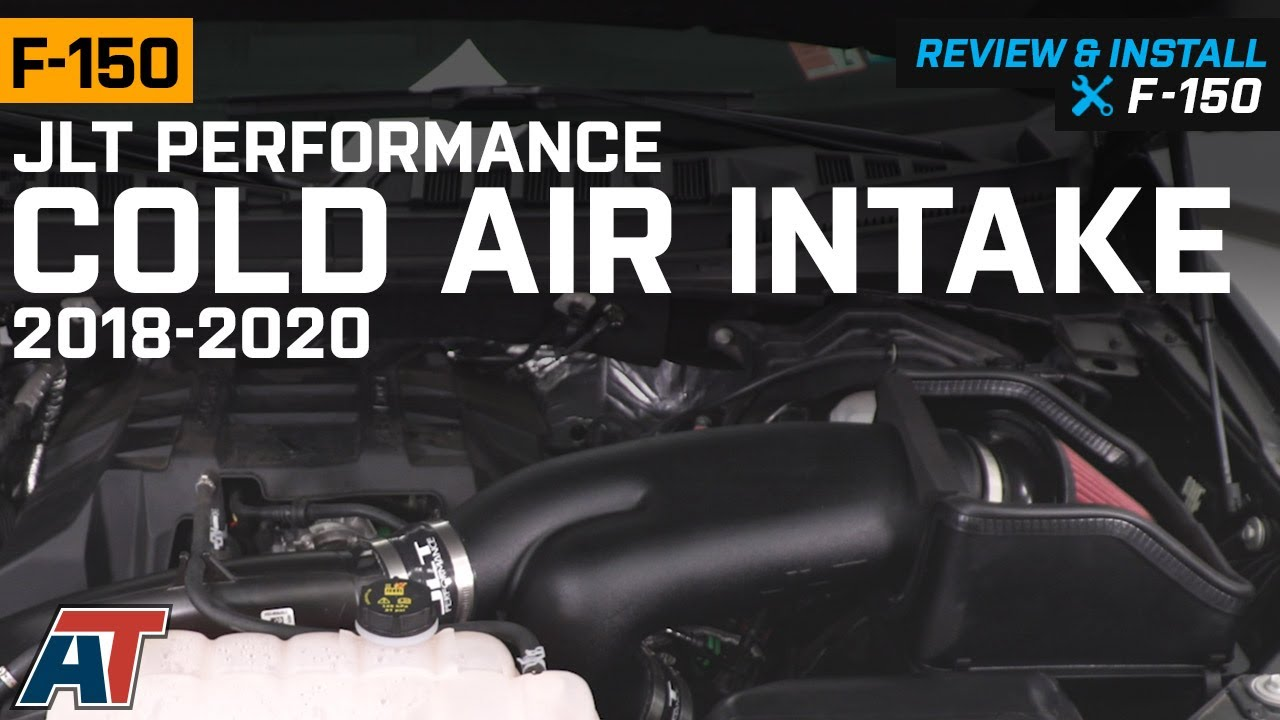 2018 2020 F150 2 7l Ecoboost Jlt Performance Cold Air Intake Review Install Youtube