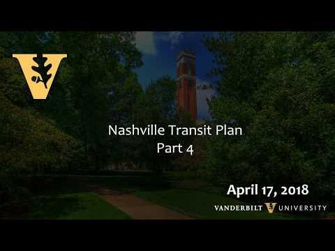 The Nashville Transit Plan: It Is Decision Time