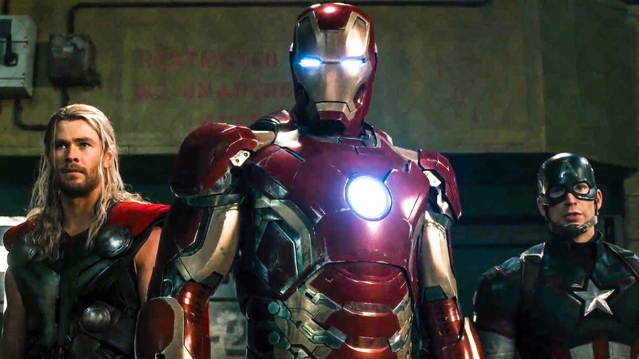 Avengers Vs Ultron Fight Scene Avengers 2 Age Of Ultron 2015 Movie Clip Youtube