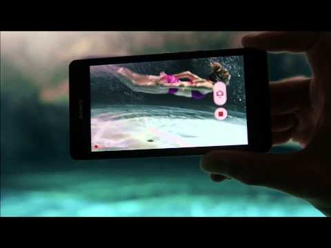 Xperia™ ZR - The new waterproof smartphone from Sony