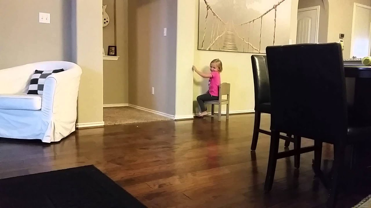 Hilarious Little Girl In Timeout Youtube