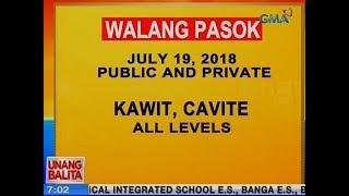 UB: Walang pasok ngayong Miyerkules sa Kawit, Cavite all levels public and private