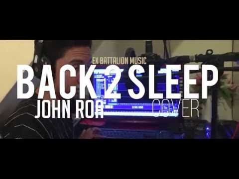 John Roa - BACK TO SLEEP COVER