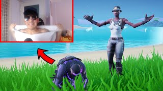 When I KILLED this streamer with RECON EXPERT he did that.. (Fortnite)