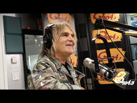 Mike Peters From The Alarm Talks 'Man in the Camo Jacket' Documentary and Performs in Studio