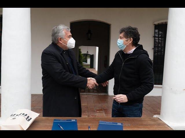 """""""A Posse hay que cuidarlo y valorarlo"""" dijo Morales mientras le sacan el banquito"""