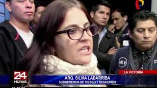 La Victoria: 15 galerías de Gamarra presentan situación de riesgo