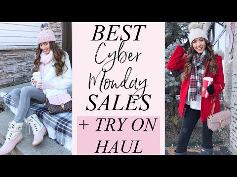BEST CYBER MONDAY DEALS 2018 | + TRY ON HAUL | AMERICAN EAGLE, ASOS, TARGET + MORE!