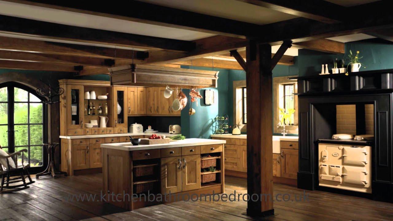Traditional And Modern Oak Kitchen Design