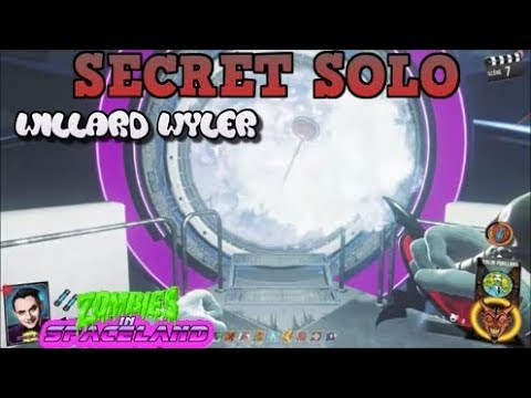 INFINITE WARFARE ZOMBIE SECRET SOLO SPACELAND WILLARD WYLLER