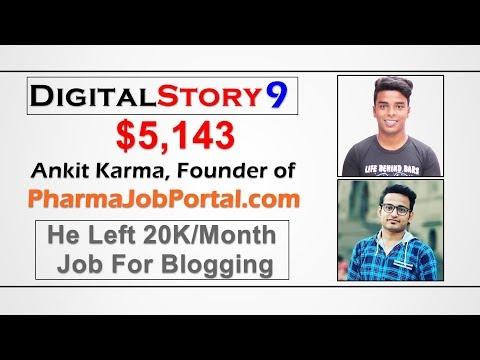 #DigitalStory 9 - He Left 20K/Month Salary Job For Blogging