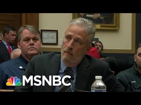 Jon Stewart To Congress: 'After 18 Years, Do Your Job' | All In | MSNBC