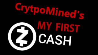 My First ZCash Successful Mining Payout Transferred to Wallet z-addr ZEC FlyPool