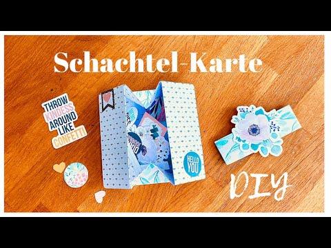 ☀️💞 Schachtel- Karte I DIY ☀️💞