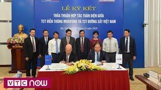 Mobifone hợp tác toàn diện với Tổng công ty đường sắt Việt Nam