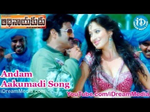 Adhinayakudu Movie Songs - Andam Aakumadi Song - Balakrishna - Lakshmi Rai - Saloni
