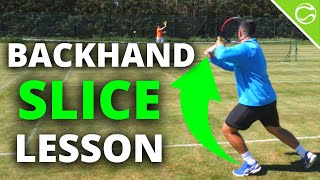 Tennis Backhand Slice - H๐w To Slice In Tennis