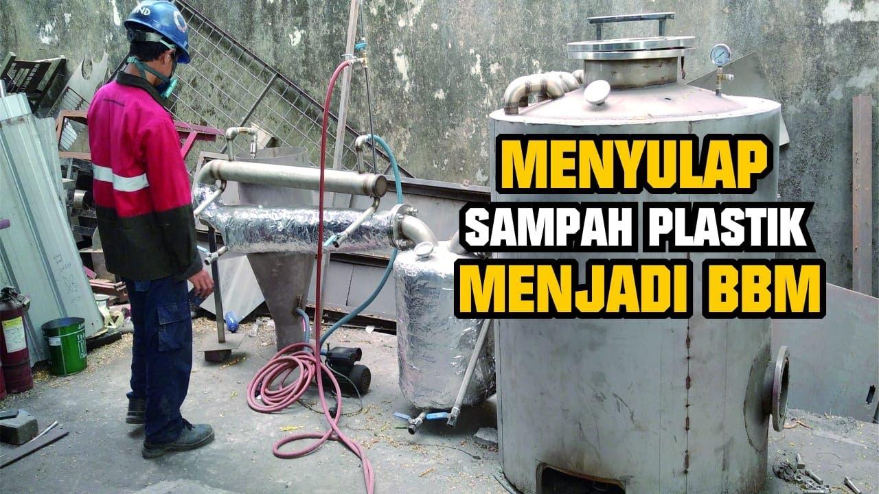 Mesin Destilator Sampah Plastik Jadi BBM