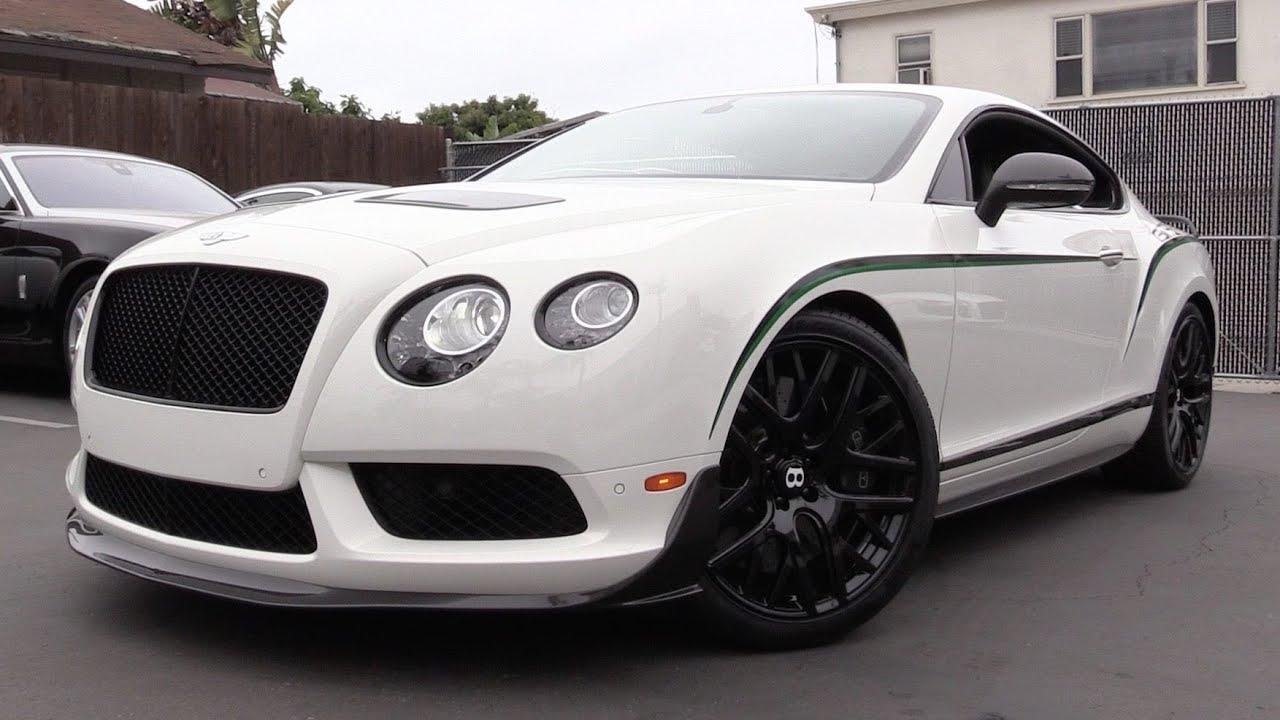 2015 Bentley Continental GT3-R - Start Up, Exhaust & In Depth Review ...