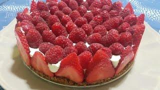 Cheese cake cetogène sans sucre et sans farine