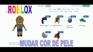 Tutorial-How to change the color of the skin of Skin #Roblox (read the description)