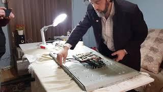 """SUNNY 40"""" TV TAMİRİ. Ses Var Görüntü Yok Arızası. Ataşehir Eve Servis Tv Tamiri"""