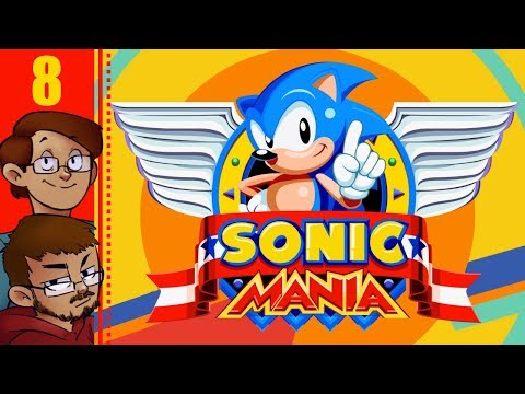 Let's Play Sonic Mania Co-op Part 8 - Mirage Saloon