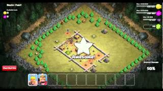 Clash Of Clans singleplayer Rocky Fort