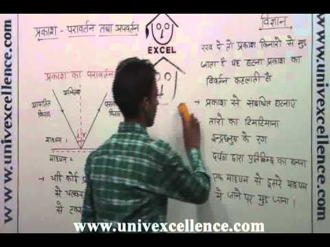 Class 10 Vigyan Light Reflection & Refraction - Prakash, Paravertan in  Hindi Dur  30 Min
