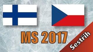 Finsko - Česko | MS 2017 | 3:4sn