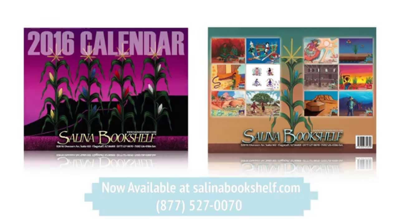 2016 Salina Bookshelf Calendar