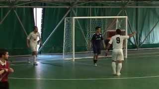 Calcio a 5, Serie C2: Virtus Divino Amore - Cosmos. highlights e interviste