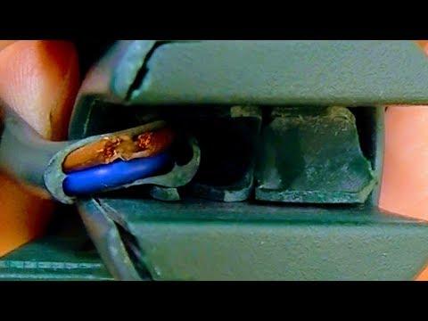 kabel-bruch-selber-reparieren-am-elektrogerÄt-|-einfach+schnell-|staubsauger-kobold-vorwerk,maschine