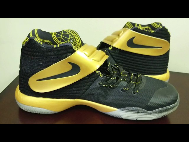 25d2ac84781e Dhgate Kyrie 2 Review - Gold and Black Color Combination - YouTube