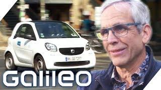 Dieser Mann hat vor 25 Jahren das Sharing-System erfunden! | Galileo | ProSieben