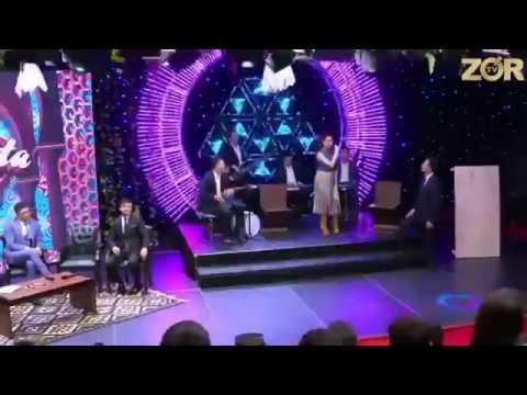 Munisa Rizayeva va Mister Qaxa, Alisher Fayz - Jonli ijroni yorvorishdi