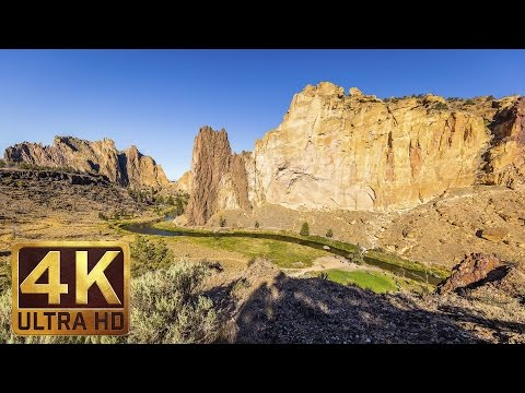 Smith Rock State Park, Oregon - 4K Nature Documentary Film | Virtual Tour 2017