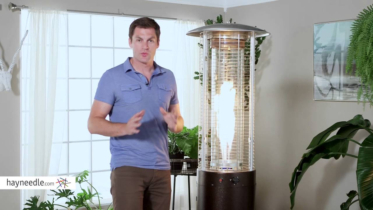 red ember fuego patio heater hammeredtone bronze product review video