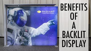 Benefits of a Backlit Trade Show Display