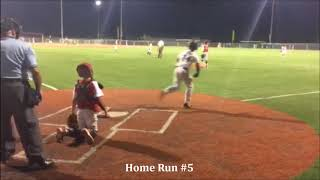 Kid Hits 5 Home Runs IN A ROW during Baseball Tournament! Earns 11U Tournament MVP