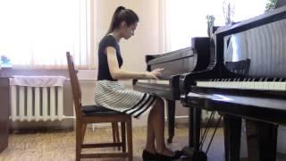 Полина Велькер (общее ф-но) - Дюбюк вариации на русскую песню