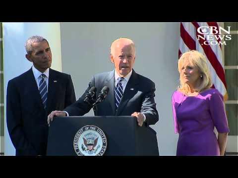 Vice President Joe Biden Won't Run for President