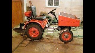 Самодельный трактор Т-16 мини