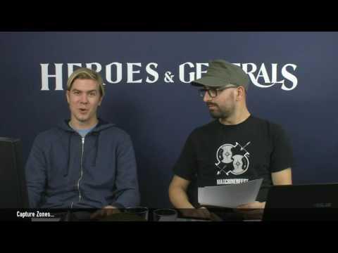 Heroes & Generals Devstream #80! Live from Copenhagen